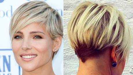 Női új haj vágás